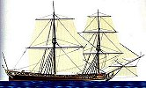 This is a Brigantine ship.