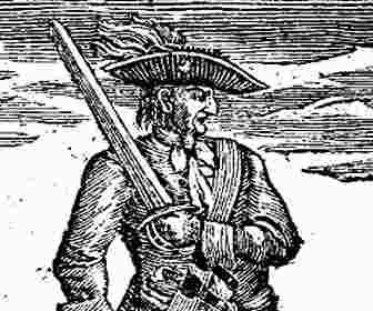 Calico himself, Calico Jack Rackham pirate