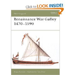 Renaissance War Galley- book