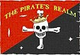 Pirate's Realm logo, black bart, bartholomew black bart roberts, black bart pirate